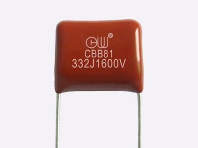 CBB81金属化聚丙烯膜箔式电容器